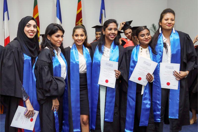 Graduation 20 Mod Art Paris Sri Lanka Branch Campus